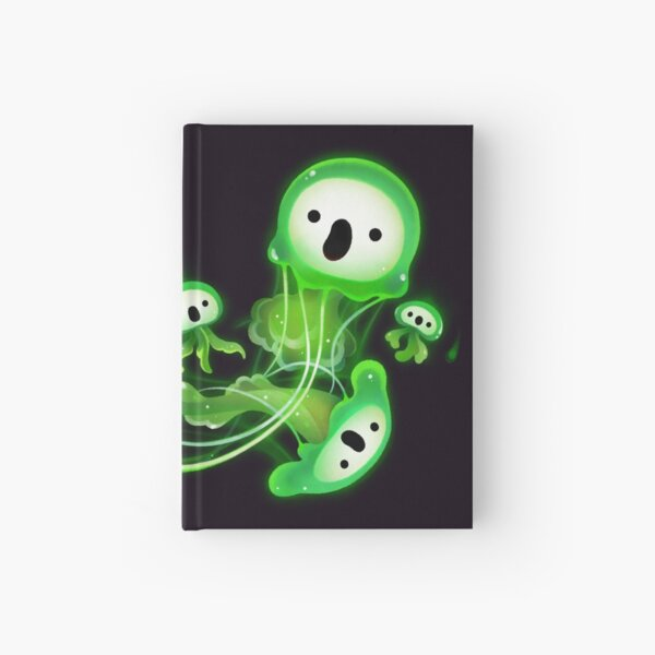 Ghost Jellyfish Hardcover Journal