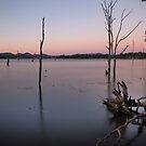 Somerset Dam - Pre Dawn by Barbara Burkhardt
