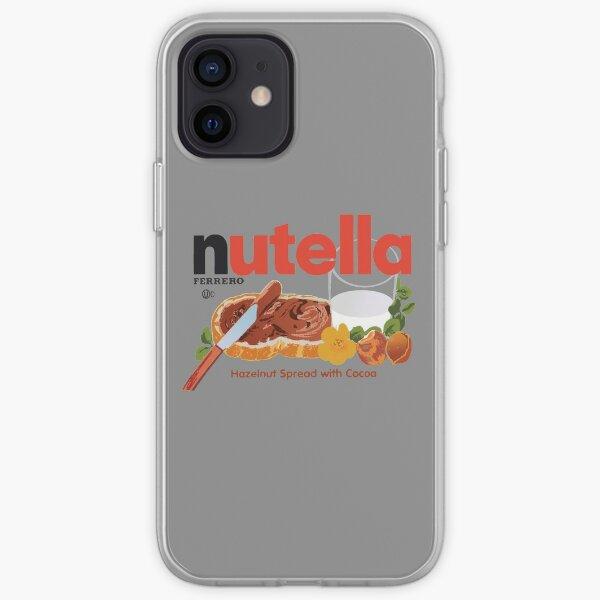 Iconic Nutella Hazelnut Cocoa Spread design iPhone Soft Case