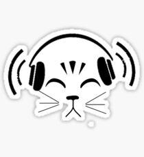 feel the beat Sticker