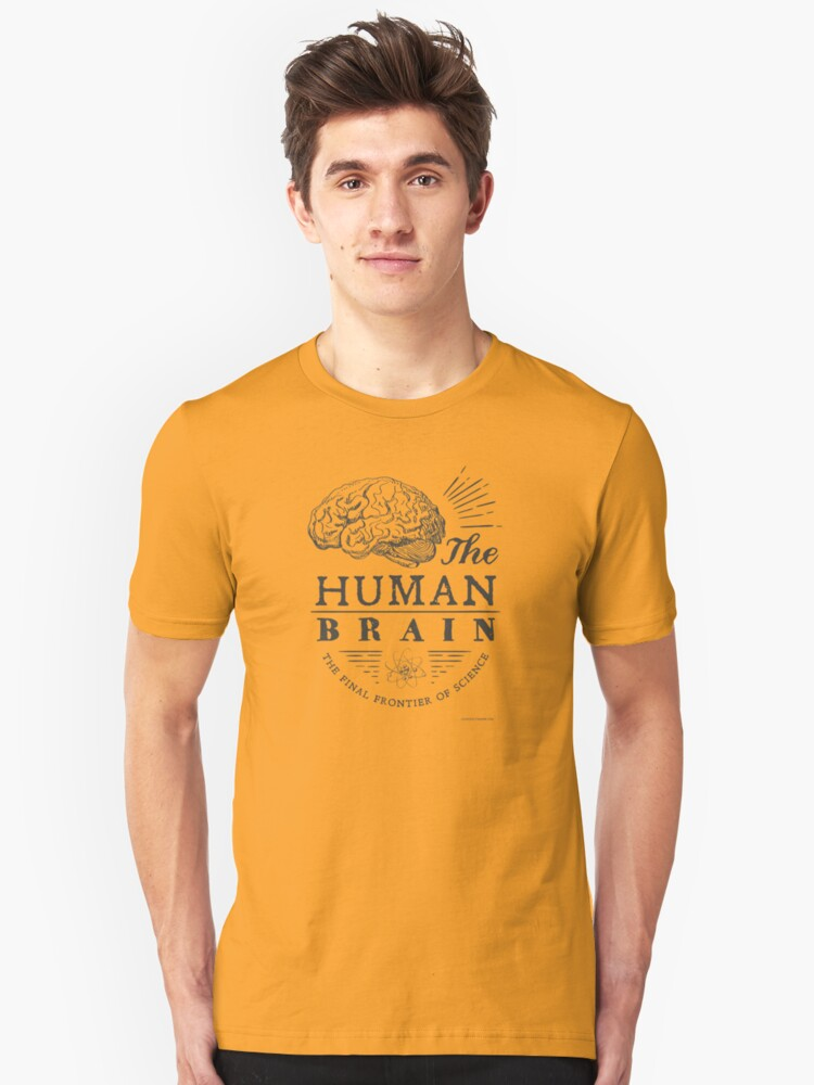 Science - Human Brain Unisex T-Shirt Front