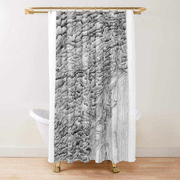 lonly nights Shower Curtain