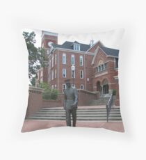 Cadet Mold - Clemson University, SC Throw Pillow