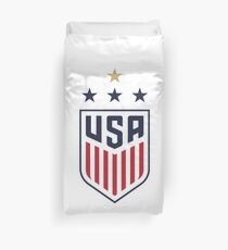 USWNT US Womens National Soccer Team Duvet Cover