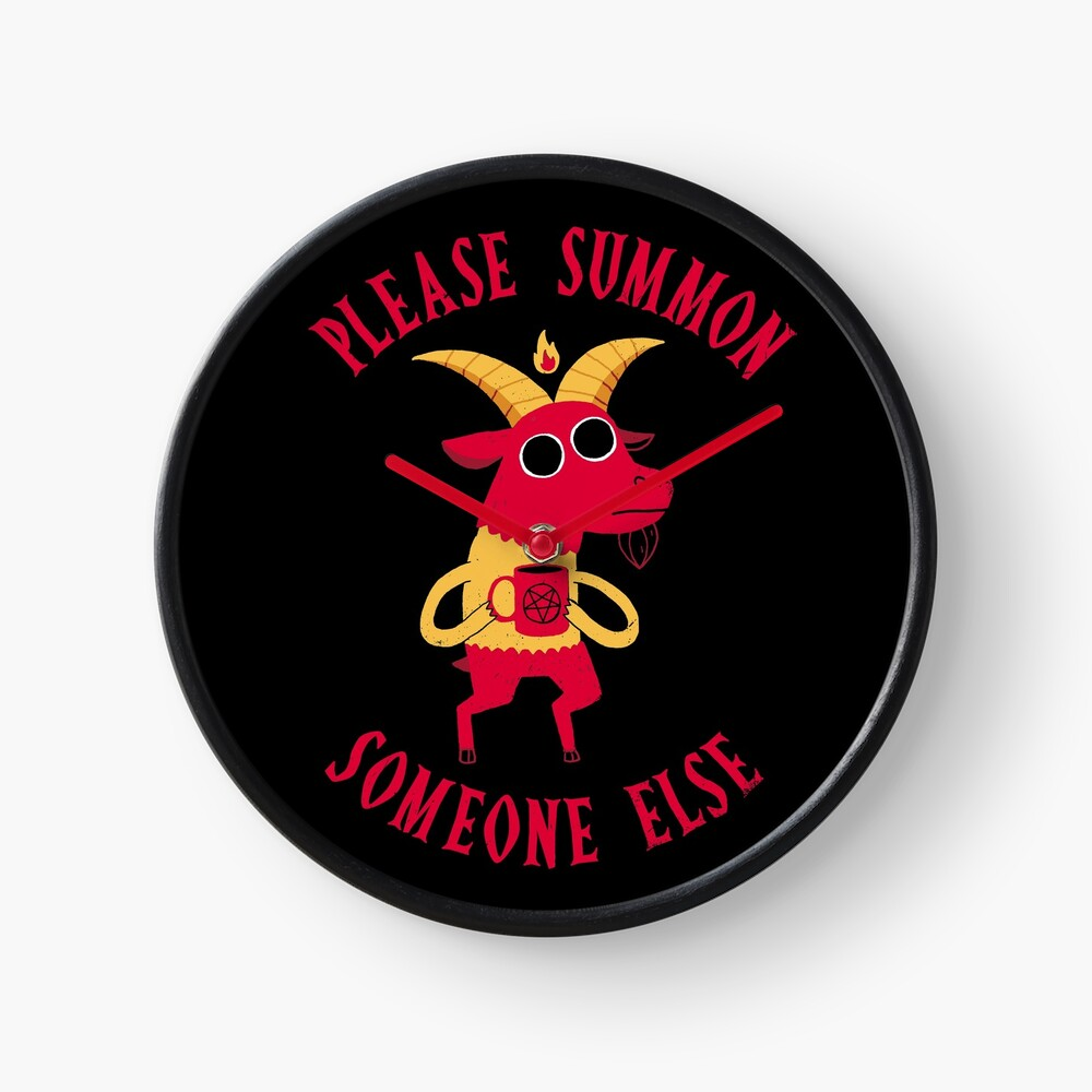 Summon Someone Else Clock