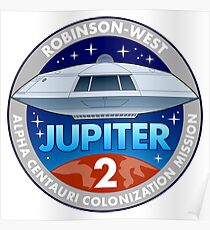 Jupiter 2 Mission Patch Poster