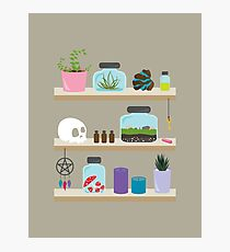 Witch Shelves, The Other Wall Photographic Print