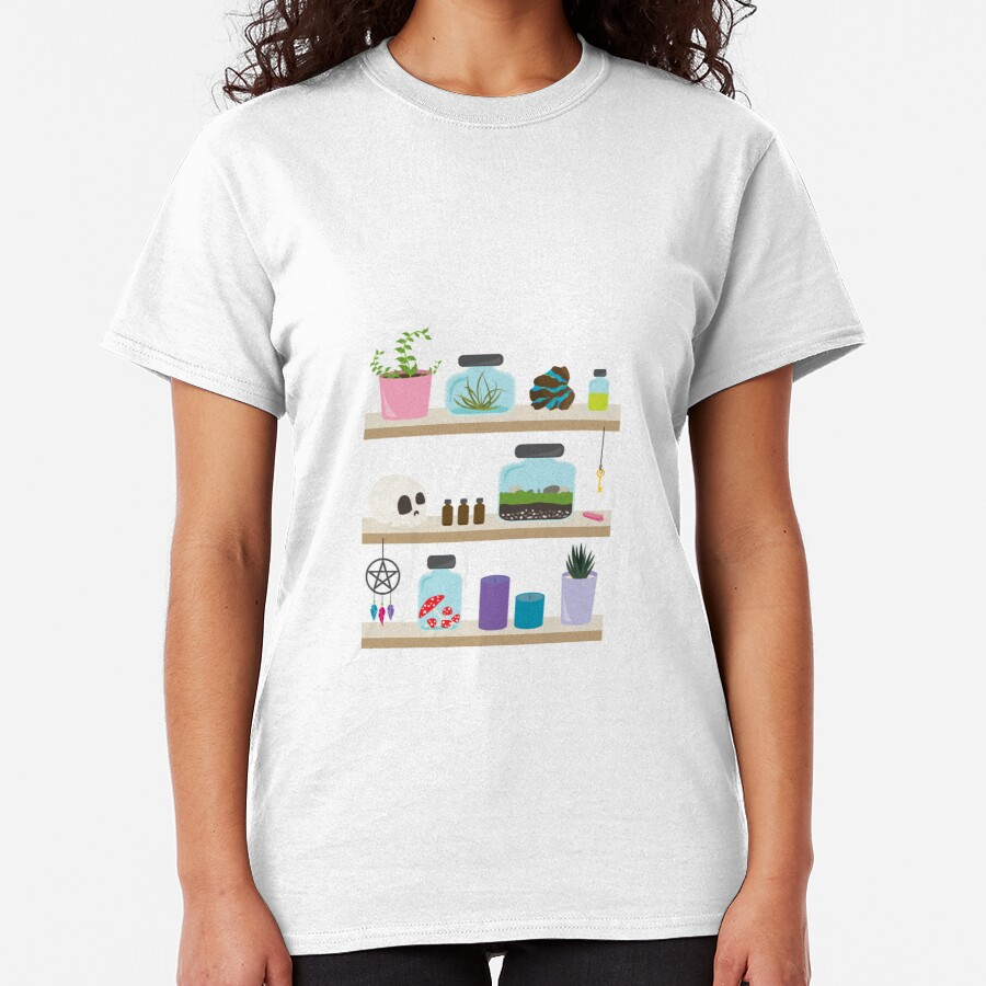 Witch Shelves, The Other Wall Classic T-Shirt