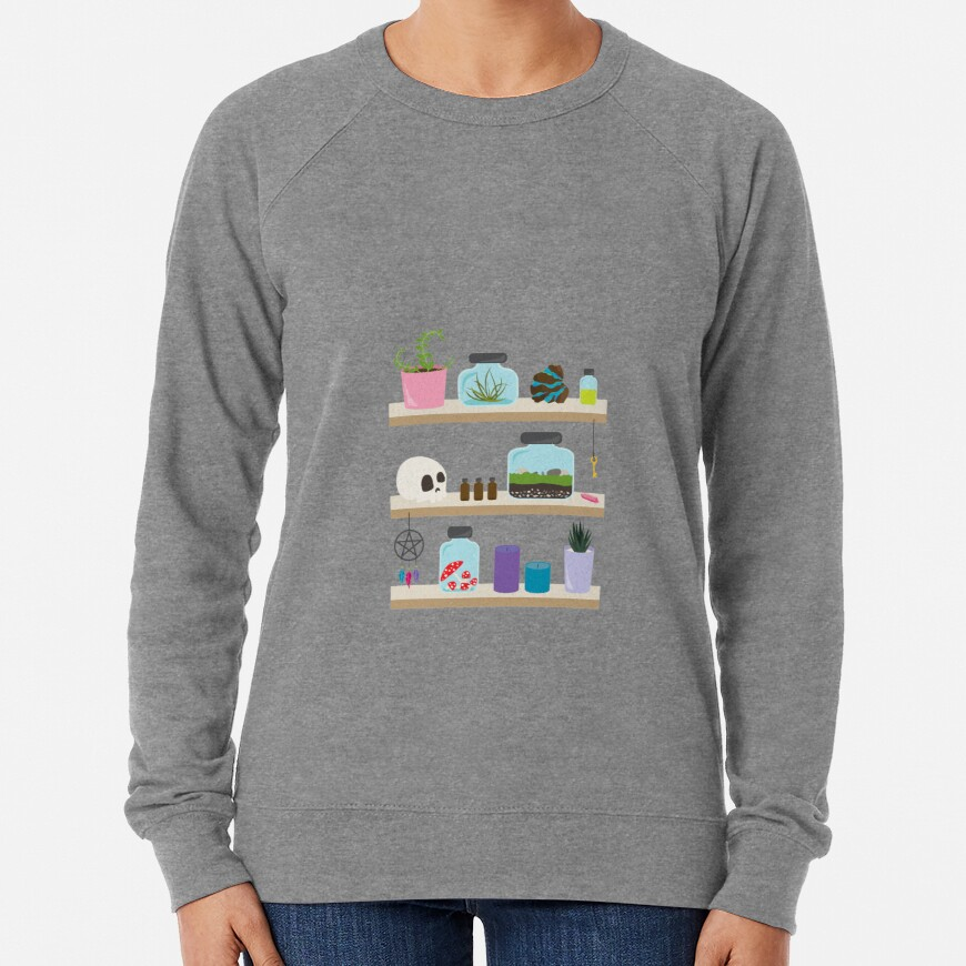 Witch Shelves, The Other Wall Lightweight Sweatshirt