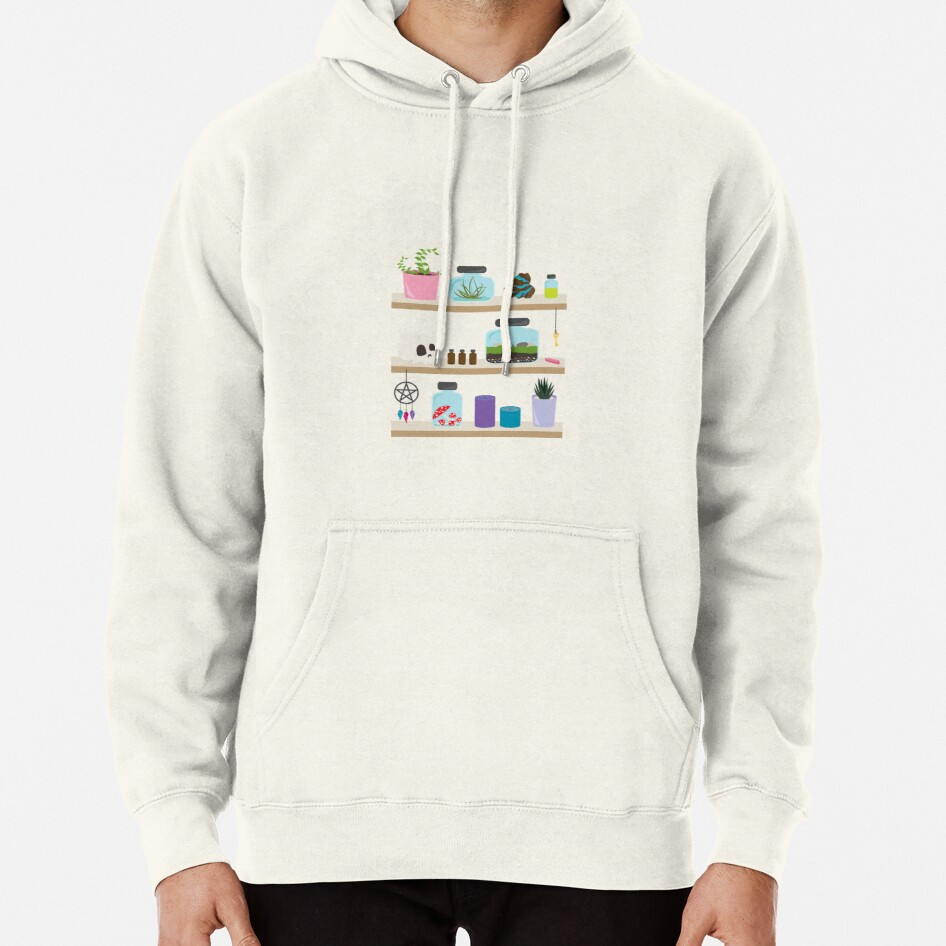 Witch Shelves, The Other Wall Pullover Hoodie