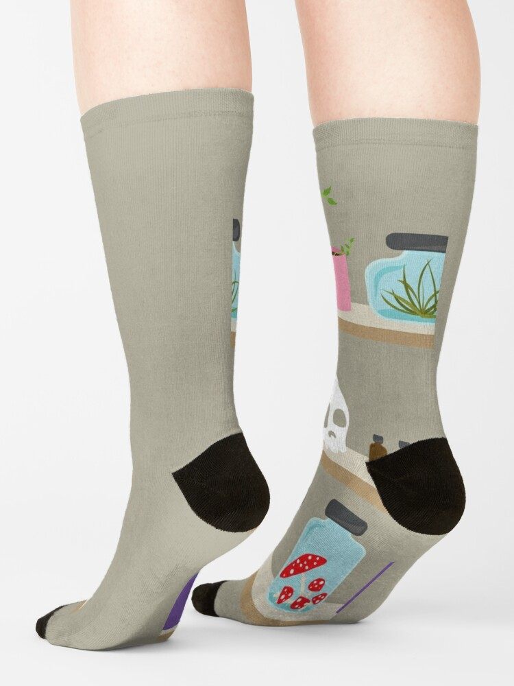 Alternate view of Witch Shelves, The Other Wall Socks