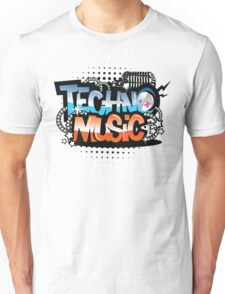 Techno Music Unisex T-Shirt
