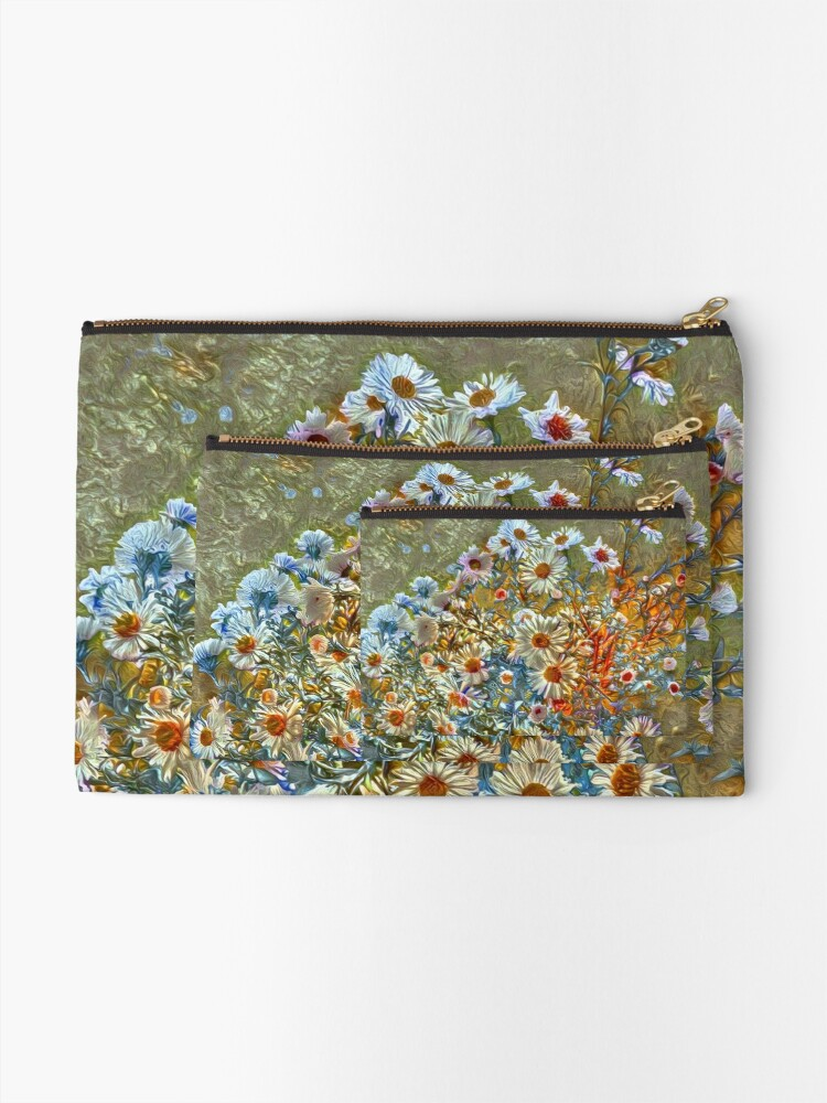 Alternate view of Flowers Zipper Pouch