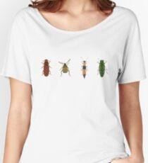 Four Beetles Women's Relaxed Fit T-Shirt