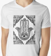 Hamsa Men's V-Neck T-Shirt