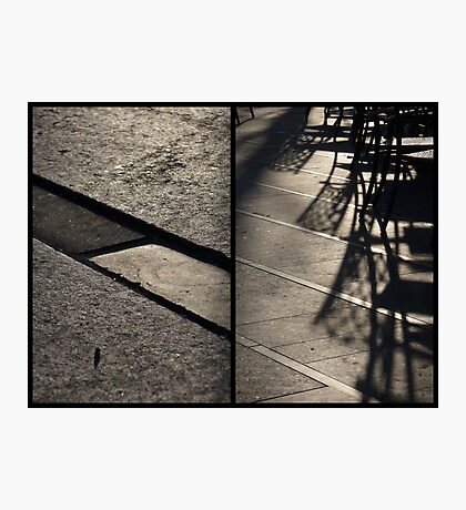 Morning at Heuvel (diptych) Photographic Print