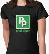Pied Piper Women's Fitted T-Shirt
