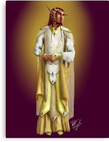 The Golden Robe by aeramin