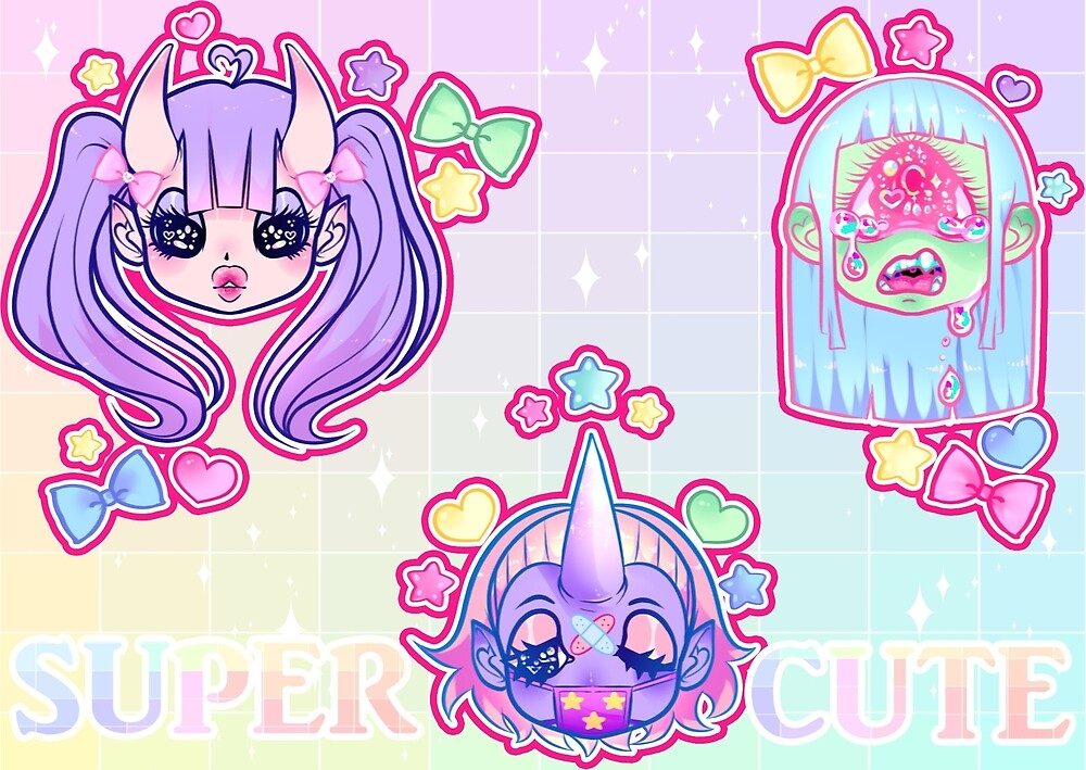 SUPER CUTE MONSTERS by It-a