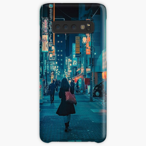 Light Up the Sky- Japan Night Photo Samsung Galaxy Snap Case