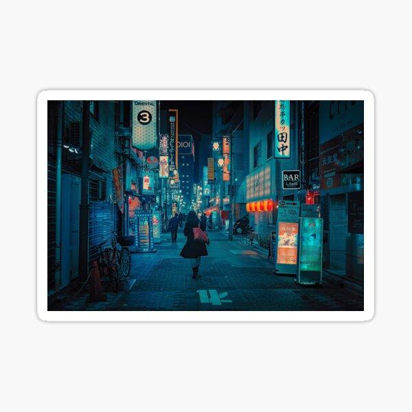 Light Up the Sky- Japan Night Photo Sticker