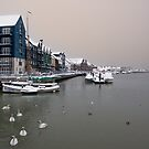 Snowy Harbour by Leon Ritchie