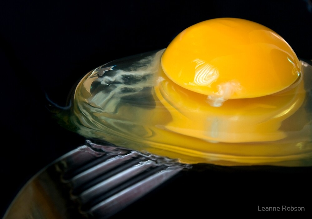 Now That's A Yolk by Leanne Robson