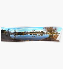 Silverbell Lake Pano Poster