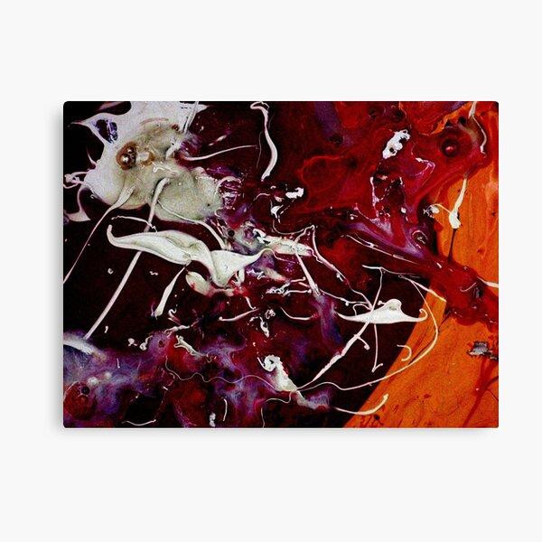 Etude homage to Stockhausen #2 Canvas Print
