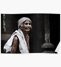 Bali - Indonesia: Elderly woman in family commune Poster