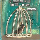 A beautiful bird is the only kind we cage by lonebirdstudio