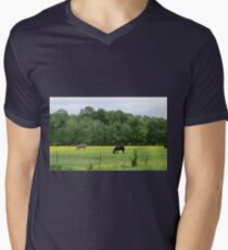 Pastureland Men's V-Neck T-Shirt