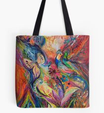 The walls of Safed Tote Bag