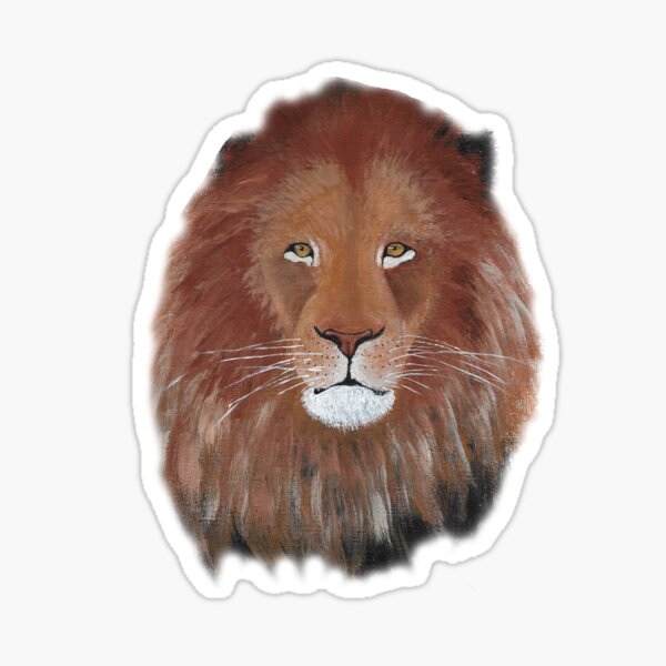 Majestic Lion Sticker