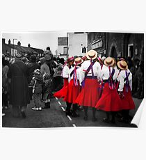 Rivington North West Morris. Poster