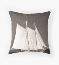 """Windjammer""- Toned Throw Pillow"