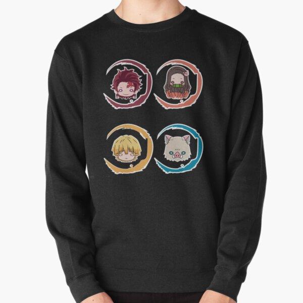 DEMON SLAYER (KIMETSU NO YAIBA) TOUS CHIBIS Sweatshirt épais