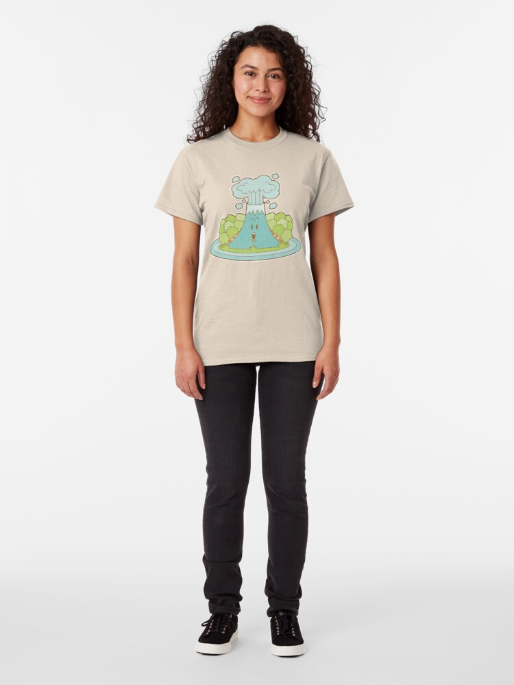 Alternate view of Little Volcano Classic T-Shirt