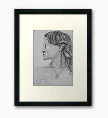 Lydia Framed Print
