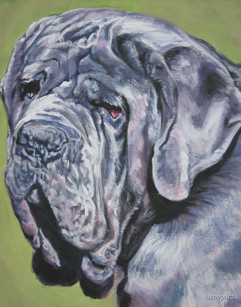 Neapolitan Mastiff Fine Art Painting by lashepard