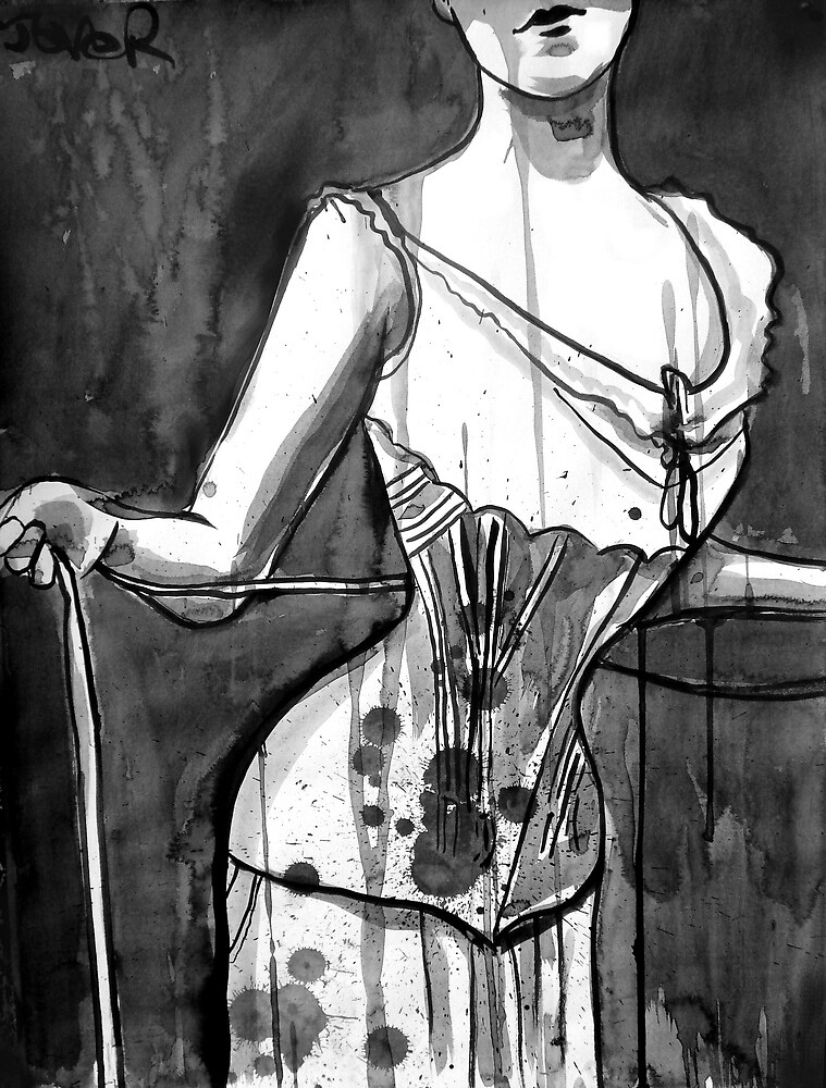 corset by Loui  Jover