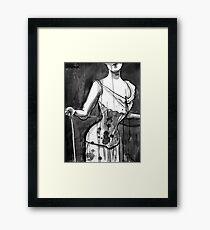 corset Framed Print