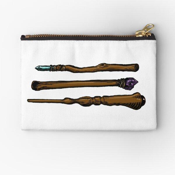 Wands - Colored Version Zipper Pouch