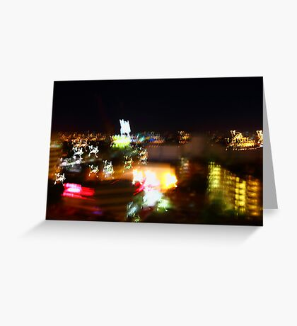 colours of the perth cbd Greeting Card