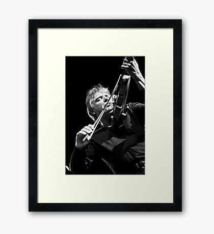 Didier Lockwood Framed Print