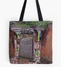 The Old St Albans Cemetery..16-1-11.. Tote Bag
