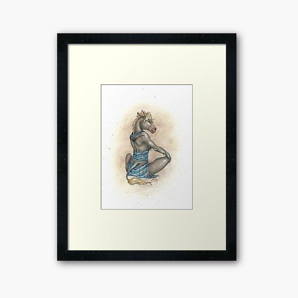 Kushana - Drawing Framed Art Print