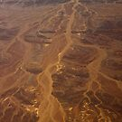 Veins of sand in rock by Owed To Nature
