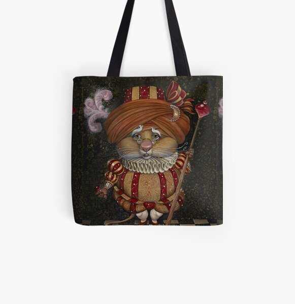The ROYAL DOOR MOUSE of TOBOLAND All Over Print Tote Bag