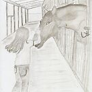 SYDNEY IN THE STABLES FOR SHER - 2nd Series of Friends Pets by LadyE